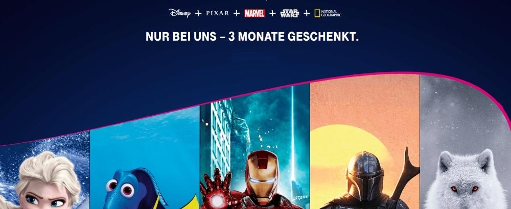 Disney+ 3 Monate kostenlos