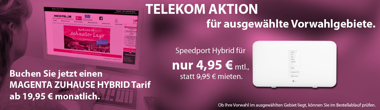 Hybrid neues Banner Router 4,95