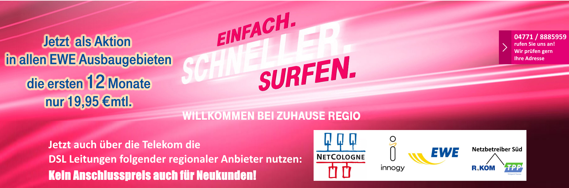 Nicotel Mobilfunk Magentazuhause Regio