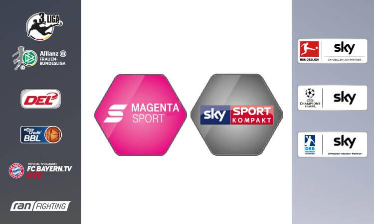 Magenta Sport mit Sky Sport Kompaket