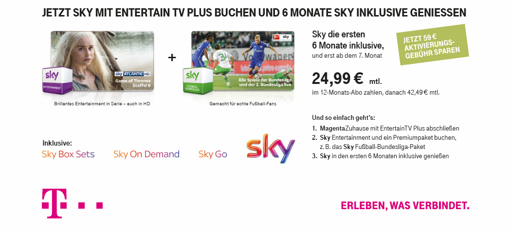 Sky Werbung