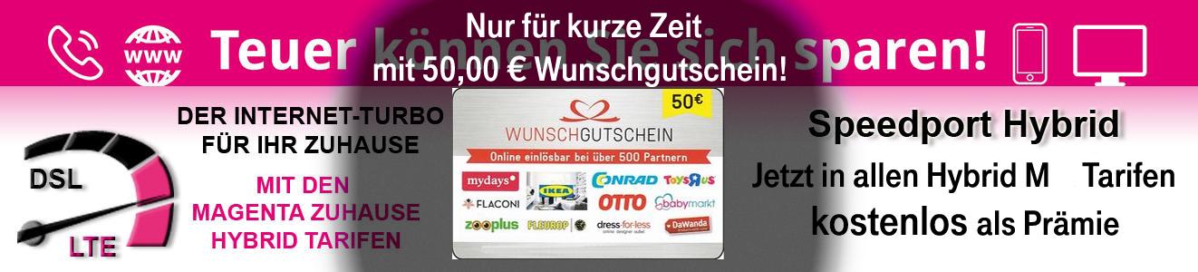 Telekom Hybrid Nicotel Aktion