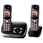 Panasonic KX-TG6522GB schwarz Duo mit AB